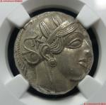 8(NGC-Ch AU)古希腊雅典娜银币