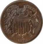 1873 Two-Cent Piece. Close 3. Proof-65 BN (PCGS). CAC. OGH.