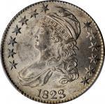 1823 Capped Bust Half Dollar. O-103. Rarity-2. MS-62 (PCGS).