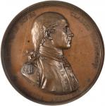 1779 (1845-1860) Captain John Paul Jones Naval Medal. Original Dies, Paris Mint Restrike. Bronze. 56