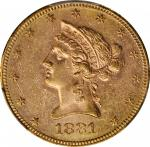 1881-S Liberty Head Eagle. MS-61 (PCGS).