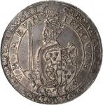 SWEDEN. 8 Mark, 1608. Stockholm Mint. Karl IX (1604-11). NGC AU-55.