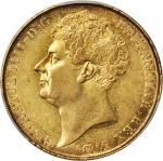 1823年英国2英镑金币。
