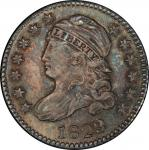 1823/2 Capped Bust Dime. John Reich-3. Rarity-2. Large Es. Mint State-65 (PCGS).