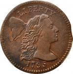 1795 Liberty Cap Cent. S-78. Rarity-1. Plain Edge. MS-62 BN (PCGS).