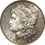 1884-S摩根银币 PCGS MS 68 1884-S Morgan Silver Dollar