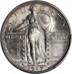 1917 Standing Liberty Quarter. Type I. MS-66 FH (PCGS).