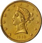 1840 Liberty Head Eagle. EF-40 (PCGS).