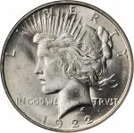 1922-D Peace Silver Dollar. MS-67 (NGC).