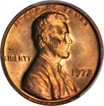 1972 Lincoln Cent. FS-101. Doubled Die Obverse. MS-66 RD (PCGS).