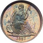 1837 Liberty Seated Dime. NGC MS65