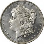 1882-O Morgan Silver Dollar. MS-65+ PL (PCGS).