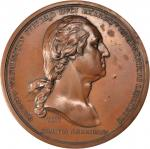 1776 Washington Before Boston Medal. Bronze. 69 mm. Paris Mint Restrike. Musante GW-09-P3, Baker-48.