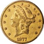 1877-CC Liberty Head Double Eagle. EF Details--Tooled (PCGS).