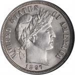 1897-O Barber Dime. MS-66 (NGC).