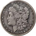 1893-S Morgan Silver Dollar. Fine-12 (PCGS).