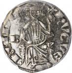 CYPRUS. Gros ND (1324-59). Nicosia Mint. Hugo IV. PCGS AU-50 Gold Shield.