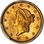 1852 Gold Dollar. MS-66+ (PCGS).