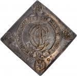 GERMANY. Saxony. Taler Klippe, 1693. Dresden Mint. Johann Georg IV. NGC MS-62.