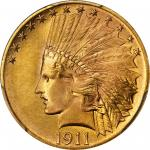 1911 Indian Eagle. MS-67 (PCGS).