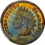 1881 Indian Cent. Proof-66 BN (PCGS).