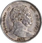 GREAT BRITAIN. 1/2 Crown, 1816. PCGS Genuine--Cleaning, AU Details Secure Holder.