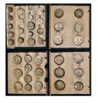 荷属比利时银币一组四十二枚