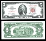Pack of Fifty Fr.1513* $2 Legal Tender 1963 STAR notes.  Uncirculated. Several consecutive runs incl
