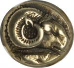 LESBOS. Mytilene. El Hekte (2.54 gms), ca. 521-478 B.C.