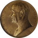 1964 United States Assay Commission Medal. Bronze. 57 mm. By Gilroy Roberts and Edward R. Grove. JK