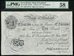 Bank of England, B.G. Catterns, £10, Birmingham 27 June 1932, prefix 138V, black and white, ornate c