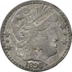 1896 Bryan Dollar. Lead. 82 mm. 288 grams. Schornstein-744. Extremely Fine.