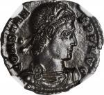 CONSTANS, A.D. 337-350. AE Follis (1.49 gms), Siscia Mint, A.D. 337-350.