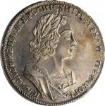RUSSIA. Ruble, 1723. Red (Moscow) Mint. Peter I (The Great). PCGS EF-45 Gold Shield.