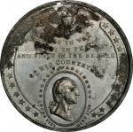 Circa 1845 Via Ad Honorem medal by Joseph Davis, Birmingham. Musante GW-167, Baker-349. White Metal.