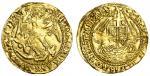 Elizabeth I (1558-1603), Angel, sixth coinage, 4.90g, mm. hand, elizabeth d! g! ang! fr! et?hi! regi