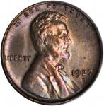 1927-D Lincoln Cent. MS-65 RB (PCGS).