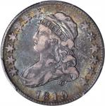1819 Capped Bust Quarter. B-2. Rarity-3. Large 9. VF-30 (PCGS).