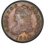 1820 Capped Bust Quarter. Browning-1. Rarity-5-. Large 0. Mint State-66 (PCGS). PCGS Population