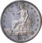 1879 Trade Dollar. Proof-64 (PCGS).