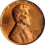 1955林肯分币 PCGS MS 64