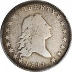 1794 Flowing Hair Half Dollar. O-107, T-5. Rarity-6. VG Details--Repaired (PCGS).