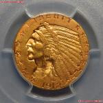 1912年美国金币 PCGS AU 55
