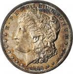 1893 Morgan Silver Dollar. Proof-63 (NGC). OH.