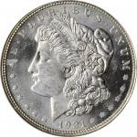 1921 Morgan Silver Dollar. MS-64 DPL (NGC).