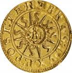 SWITZERLAND. Geneva. Ecu-Pistolet, 1563-P. NGC AU-58.
