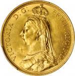 1887年英国2英镑金币。