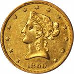 1860-O Liberty Head Eagle. AU Details--Cleaning (PCGS).