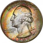1953-D Washington Quarter. MS-67 (PCGS). CAC.