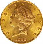 1898-S Liberty Head Double Eagle. AU-58. OH.